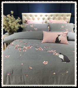 Comfortable Wholesale Brush Cotton Egyptian Cotton Bedding for Apartment pictures & photos