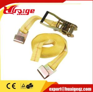 50mm 5t Ratchet Tie Down Straps with Double J Hooks pictures & photos