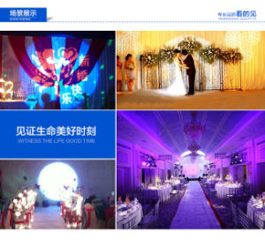 Stage Wedding Equipment 15r 330W LED Follow Spot Light pictures & photos