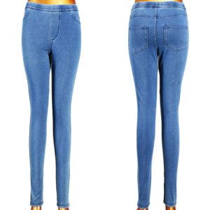 2016 New Trendy Blue Skinny Denim Girl Leggings