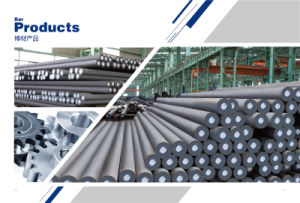 Hot Rolled/Alloy/Carbon/Round Steel Bar