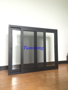 High Quality Hot Selling Aluminum Sliding Window with Crimsafe Flyscreen pictures & photos