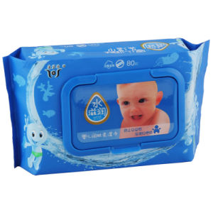 80PCS with Fresh Aromasbaby Wipes (A896) pictures & photos