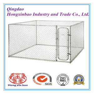 Dog Kennel or Dog Cage for Sale Galvanized Steel Welded Dog Cage pictures & photos