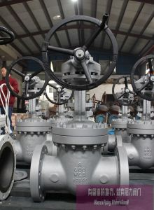 Cast Steel Gate Valve Class600 pictures & photos