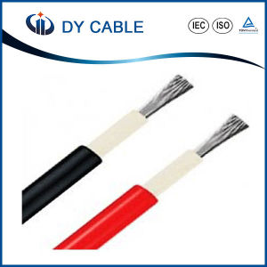 Bare Copper Wire Conductor Xlpo Insulated PV Solar Cable pictures & photos