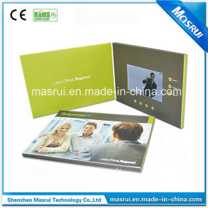 4.3inch LCD Screen Brochure Video Greeting Card (VGC4.3)