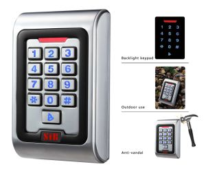 Standalone Metal Access Control Keypad Device with Metal Button pictures & photos