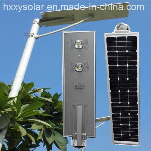 Solar Panel Light Lamp for Outdoor Lighting/Stainless Steel Solar Lamp Light pictures & photos