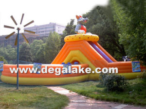 Inflatable Water Slide Amusement Park