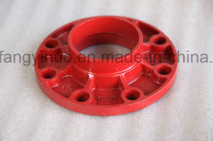 High Quality Grooved Flange Adaptor Pn16 with FM/UL pictures & photos