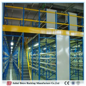 China Metal Steel High Density Mezzanine Heavy Duty Metal Shelf pictures & photos