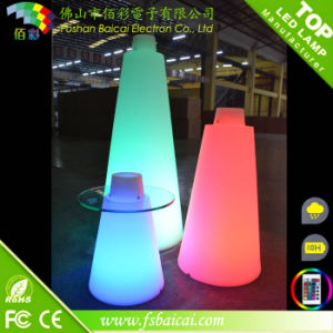 16 Color Changing LED Cocktail Table for Bar/ Waterproof LED Light Bar Cocktail Table pictures & photos