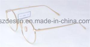 Custom Logo Round Frame Vintage Titanium Eyewear Eyeglasses Optical Frames pictures & photos