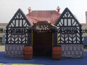 Inflatable Buildings for Beer Advertising, Inflatable Bar/Pub for Party/Drinking pictures & photos