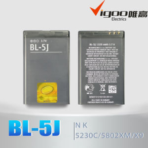 Factory Outlet Wholesale Work for Nokia Bl-5j Battery pictures & photos