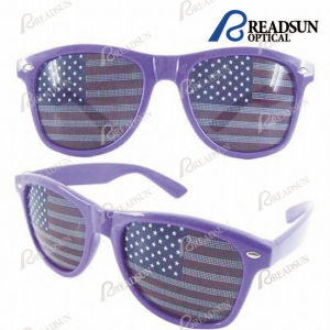 Promotional Flag Sunglasses, Sunglasses with UV400 (SP432002) pictures & photos