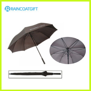2015 High Quality Solid Rod Pongee Fiberglass Promotional Golf Umbrella pictures & photos