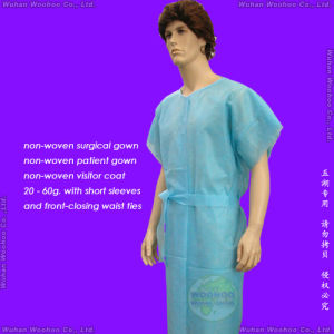 Disposable Nonwoven Surgeon Gown pictures & photos
