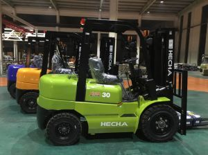 Hecha Forklift 3 Ton Diesel Forklift on Discount pictures & photos