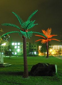 Yaye CE & RoHS Approval Outdoor LED Palm Tree Lights/Outdoor LED Palm Tree with 2 Years Warranty pictures & photos