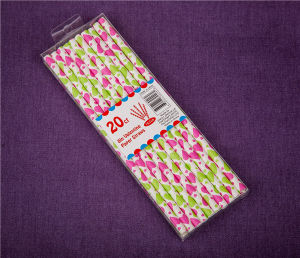 Paper Party Food Grade Funny Drinking Straws Paper Straws pictures & photos