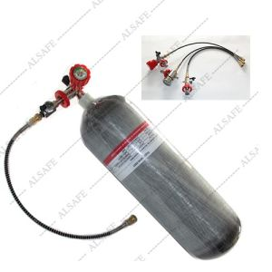 4500psi Carbon Fiber Paintball Nitrogen Tanks pictures & photos