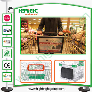 Shopping Cart Display Board and Sign Holder pictures & photos