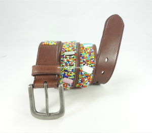 Bead-Decorated Fashion Women Waistband (EUBL0475-40) pictures & photos