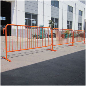Powder Coated or Galvanized Temporary Fence