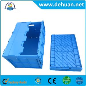 Plastic Folding Turnover Box for Fruit Cargo Turnover pictures & photos