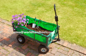 Heavy-Duty Work Steel Cart Garden Yard Lawn Utility Wagon pictures & photos