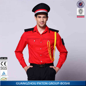 Security Uniform of Red Color pictures & photos