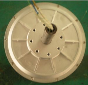 200W 350rpm Axial Flux Permanent Magnet Generator pictures & photos