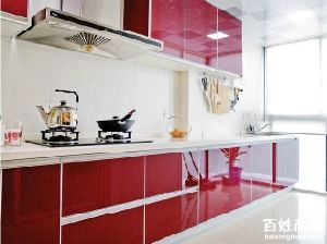 Glossy UV Kitchen Cabinet (ZH Foshan) pictures & photos
