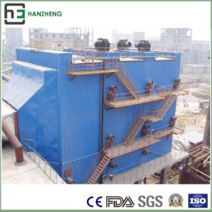 Wide Space of Top Virbration Electrostatic Collector