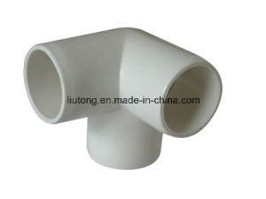 ASTM Sch40 Plastic (UPVC) Pipe Fittings ASTM-D-2466 for Supply Water (ELBOW, TEE, SOCKET, REDUCING BUSH, etc.) pictures & photos