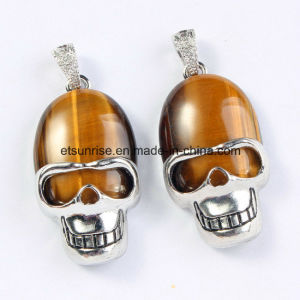 Fashion Gemstone Crystal Crystal Skull Pendant pictures & photos