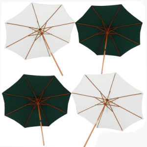 OEM New Design Wooden Parasol pictures & photos
