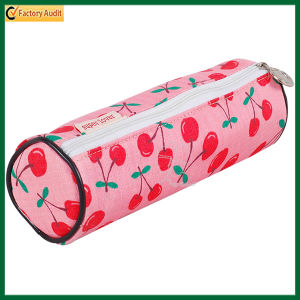 Full Printing Round Zipper Pencil Bag/ Pencil Case (TP-PCB013) pictures & photos