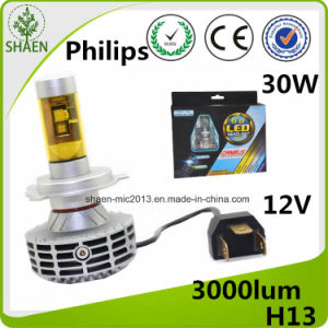 LED Auto Headlight All in One 30W H13 pictures & photos
