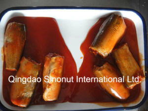 Canned Mackerel in Tomato Sauce (HACCP, ISO, BRC, FDA etc) pictures & photos