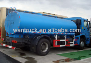 HOWO Series 4X2 Zz1167m4611 Fuel Tanker Truck pictures & photos