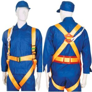 Full Body Harness with PE Position Belt (JE1005) pictures & photos
