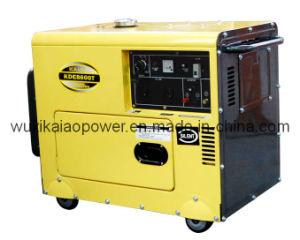 6kVA Diesel Power Generator Set (KDE8600T) pictures & photos