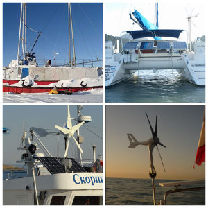 Factory Supply Good Quality Wind Turbine for Boat Use pictures & photos