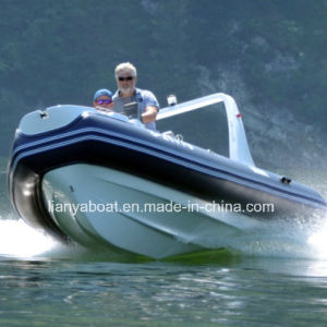 Liya 5.2m China Rib Boat Military Inflatable Boat with Motor pictures & photos