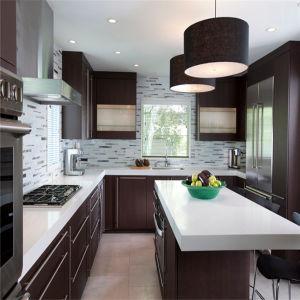 Ritz High Gloss Customized Kitchen Cabinet House Kitchen PVC Kitchen pictures & photos