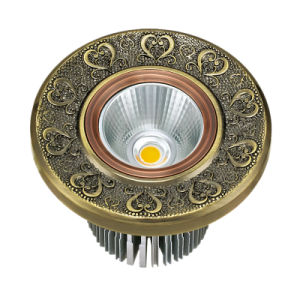 Forged Brass Face Plate Brass LED Downlight pictures & photos