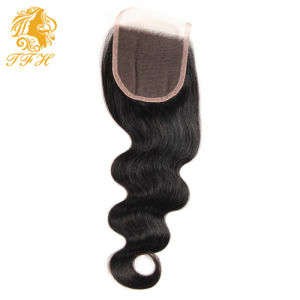Brazilian Body Wave with Lace Closure 4 Bundles Human Hair with Closure 8A Rosa Hair Products Brazilian Virgin Hair with Closure pictures & photos